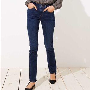 NWT Ann Taylor Modern Straight Jeans